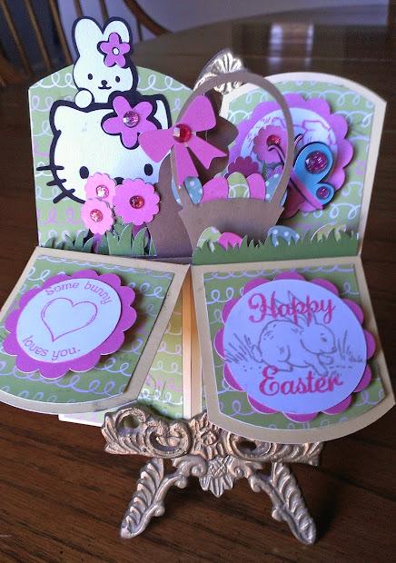 Scrappin' Nanapuddin Easter Card In Box