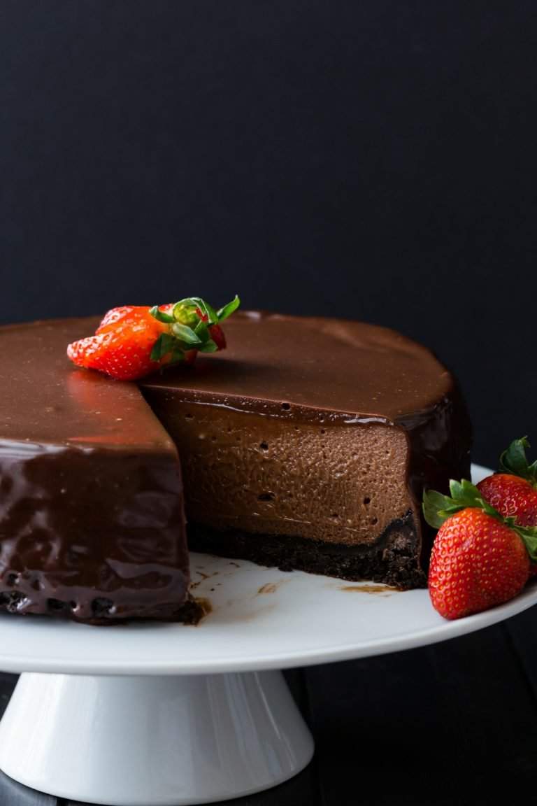 The Best Nutella Cheesecake