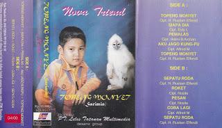 nova triend album topeng monyet www.sampulkasetanak.blogspot.co.id