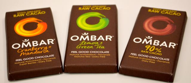 Ombar Chocolate Bars