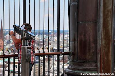 Sankt Michaelis Kirche Hamburg Michel Turm, Top Aussichtspunkt in Hamburg