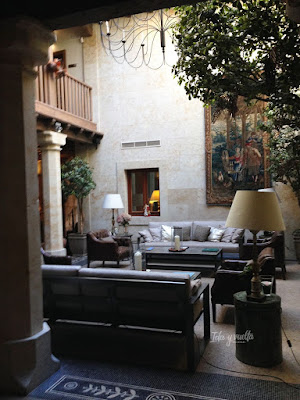 Hotel Don Gregorio patio