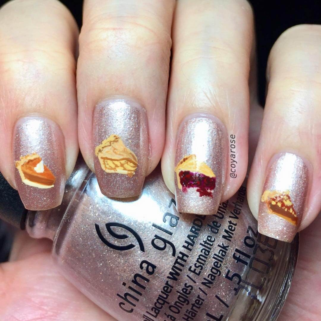 10-Pumpkin-Apple-Olallieberry-and-Pecan-Pie-Nicoya-Grobman-Free-Hand-Nail-Art-Designs-www-designstack-co