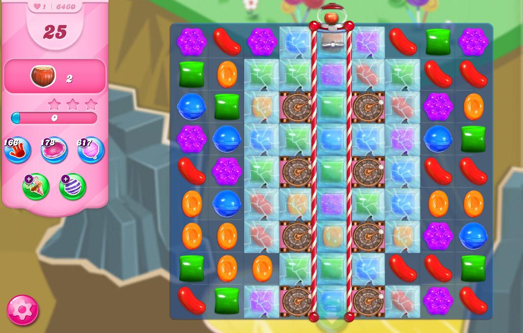 Candy Crush Saga level 6460