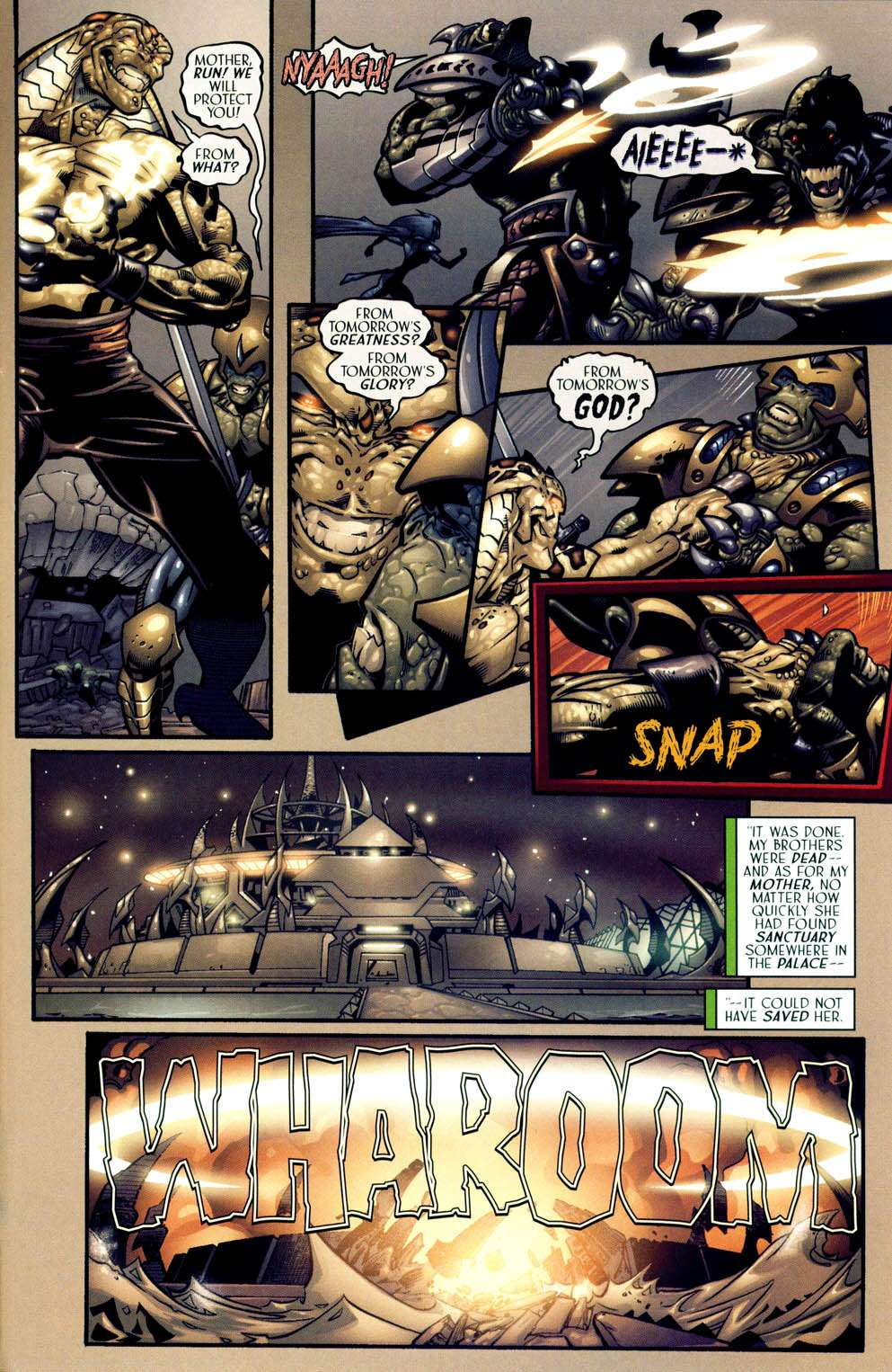Read online Sigil (2000) comic -  Issue #13 - 11