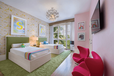 Creative Shared Bedroom for Kids image 3