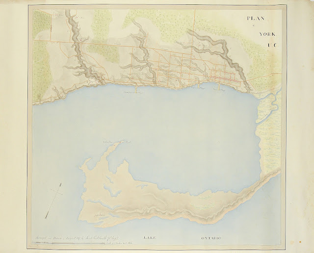 Plan of York, U.C. Surveyed by E.A. Smith, 1817