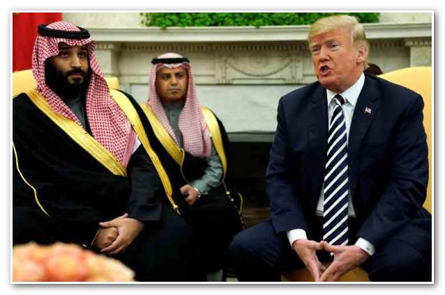 ولي عهد السعودية: ترامب صديق لنا ولن ندفع شيئاً لحمايتنا