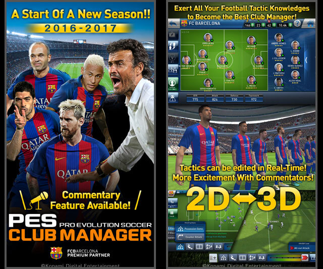 Download PES Club Manager, The Best Game For Android/iOS Devices​