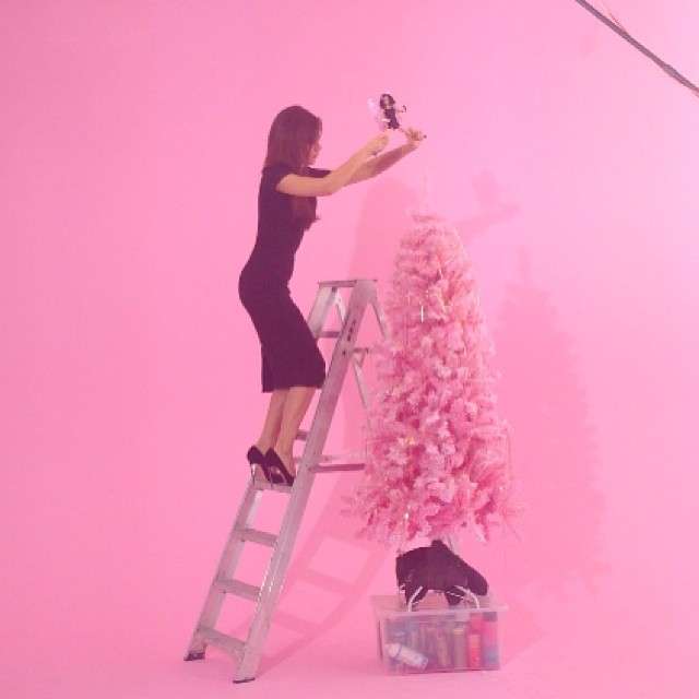 The Best Of Celebrity Christmas Trees @victoriabeckham - Cool Chic Style Fashion