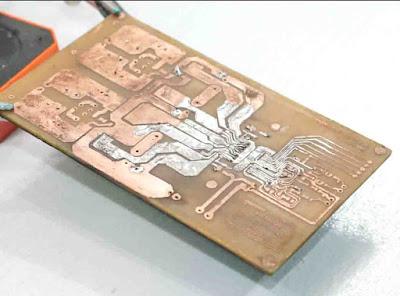 PCB Layout TAS5630 class-d amplifier circuit