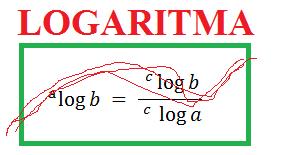 Logaritma adalah kebalikan dari eksponen
