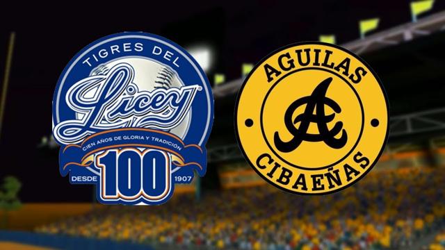Águilas Cibaeñas y Tigres del Licey se enfrentan hoy en juego inaugural