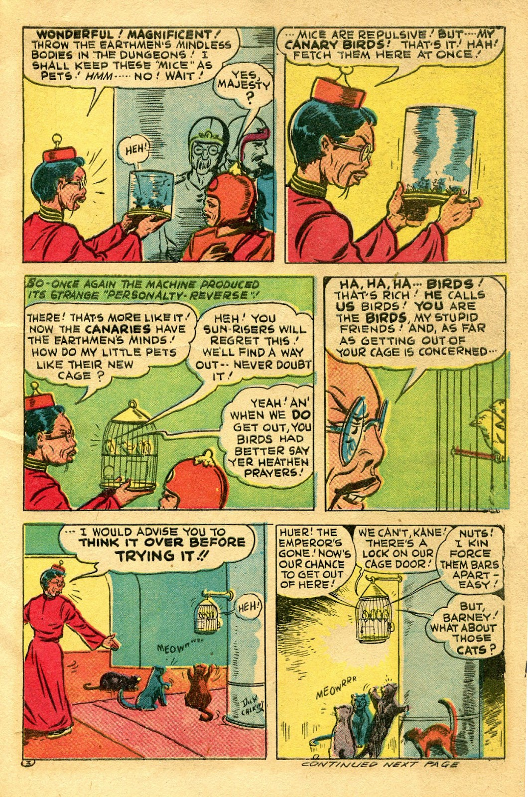 Read online Famous Funnies comic -  Issue #130 - 7