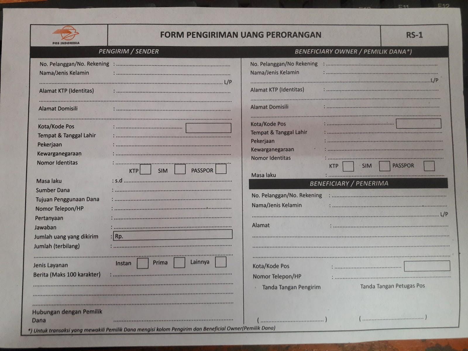 Produk Pt Pos Indonesia Terbaru September 2016