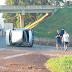 Cinto de segurança salvou a vida de um jovem em acidente na Anhanguera