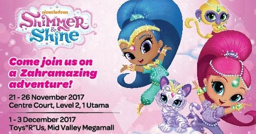 Nickalive Shimmer And Shine Invite Nicksters In Malaysia