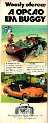 propaganda Wood Buggy - 1973, buggy anos 70, carros década de 70, Oswaldo Hernandez,