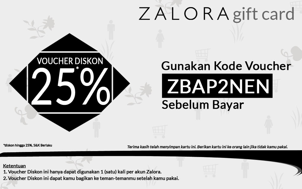 Promo Belanja Zalora September