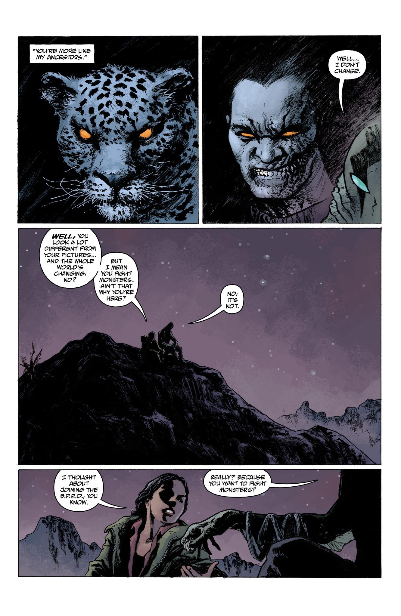 Read online Abe Sapien comic -  Issue #6 - 13