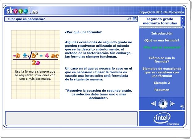 """""""Resolución de ecuaciones de 2º grado mediante fórmulas"""""""