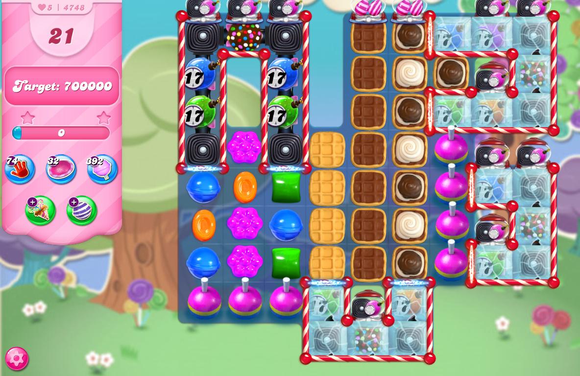 Candy Crush Saga level 4748