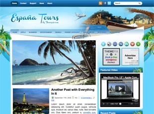 Free Espania Tours - Travel WordPress Theme