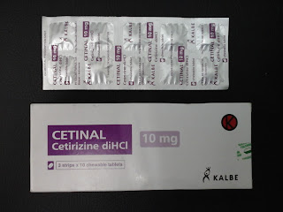 cetinal | cetirizine dihydrochloride.