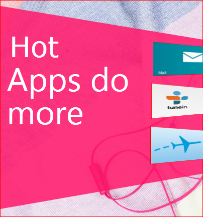 Hot apps fo Windows 8