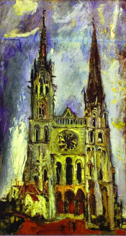 Catedral de Chartres - Chaïm Soutine e seu expressionismo violento e atormentado
