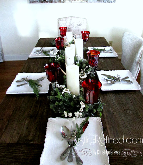 Traditional Holiday Tablescape
