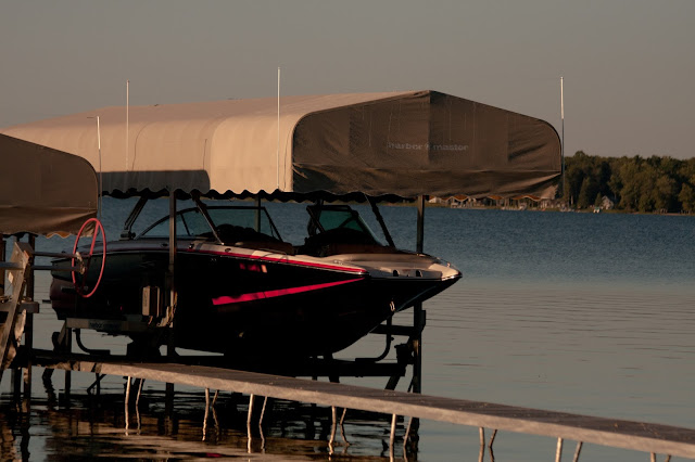 Boat Lift Canopy Seagull Wire Deterrent - Mastercraft