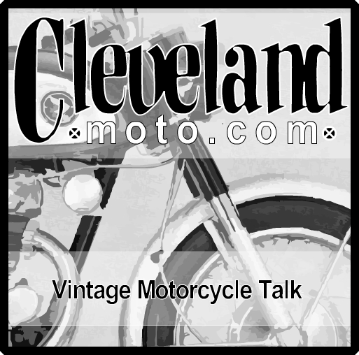 ClevelandMoto vintage motorcycle cafe racer podcast: 2014