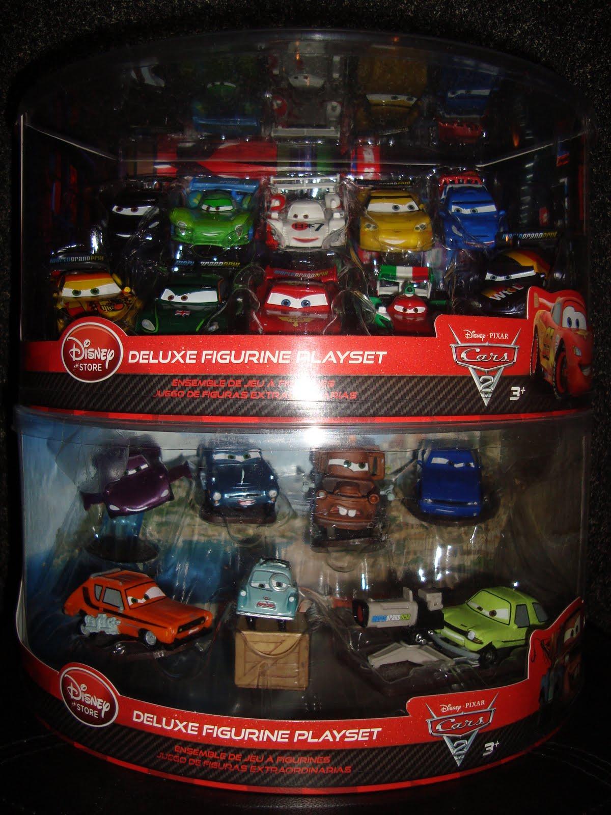 Cars  Deluxe Figures