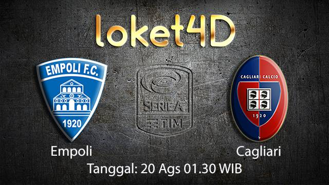 Prediksi Bola Jitu Empoli vs Cagliari ( Italian Serie A )