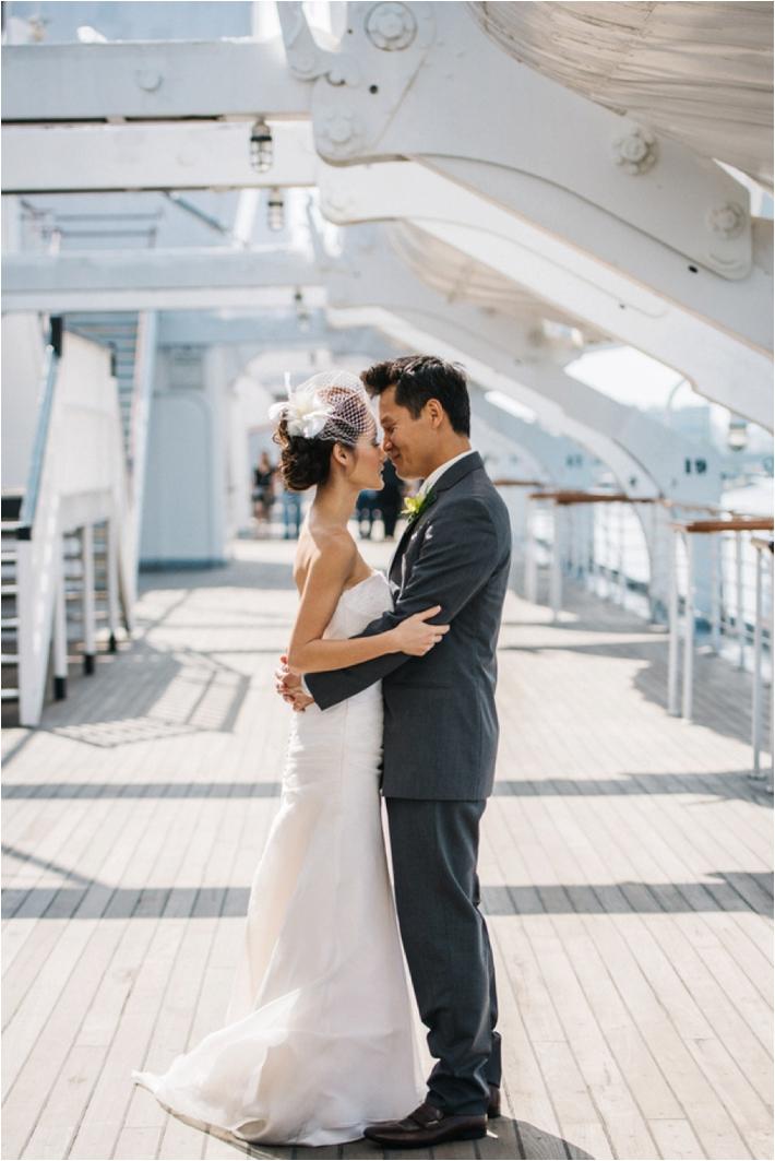 The Queen Mary Long Beach Wedding Southern California