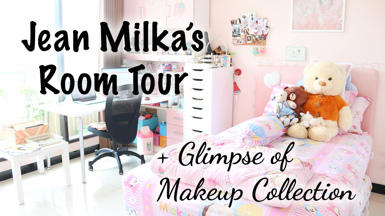 makeup, beauty, room tour, bedroom, girl room, girls room, pink room, decor, decoration, home decor, inspiration, video, jeanmilka, jean milka, pink, pink room