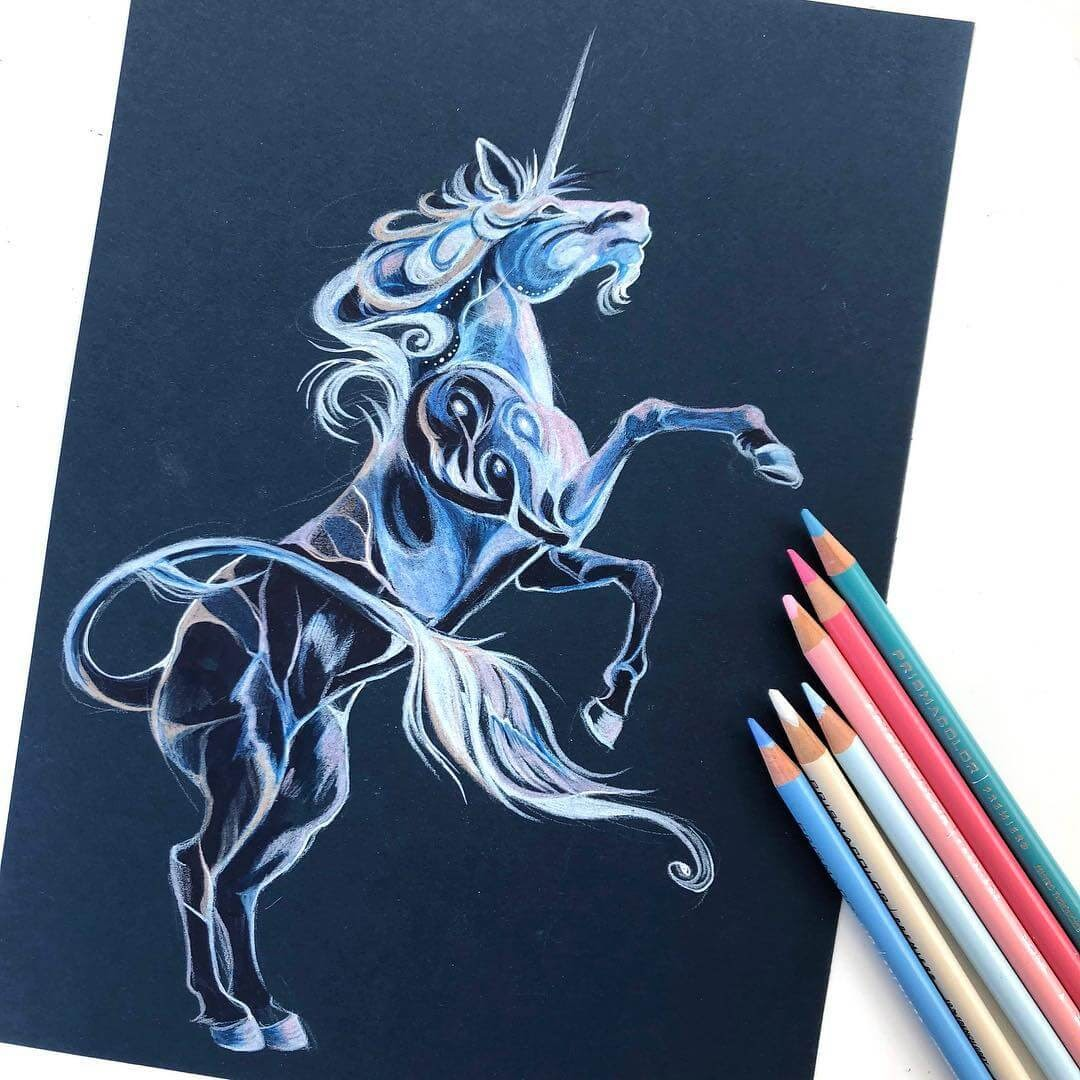 10-Unicorn-Animal-Drawings-Fantasy-Wolds-www-designstack-co