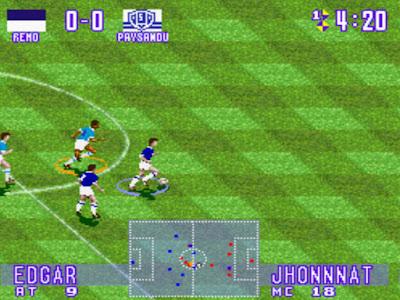 Copa do Nordeste e Copa Verde ganham versão em jogo para Super Nintendo