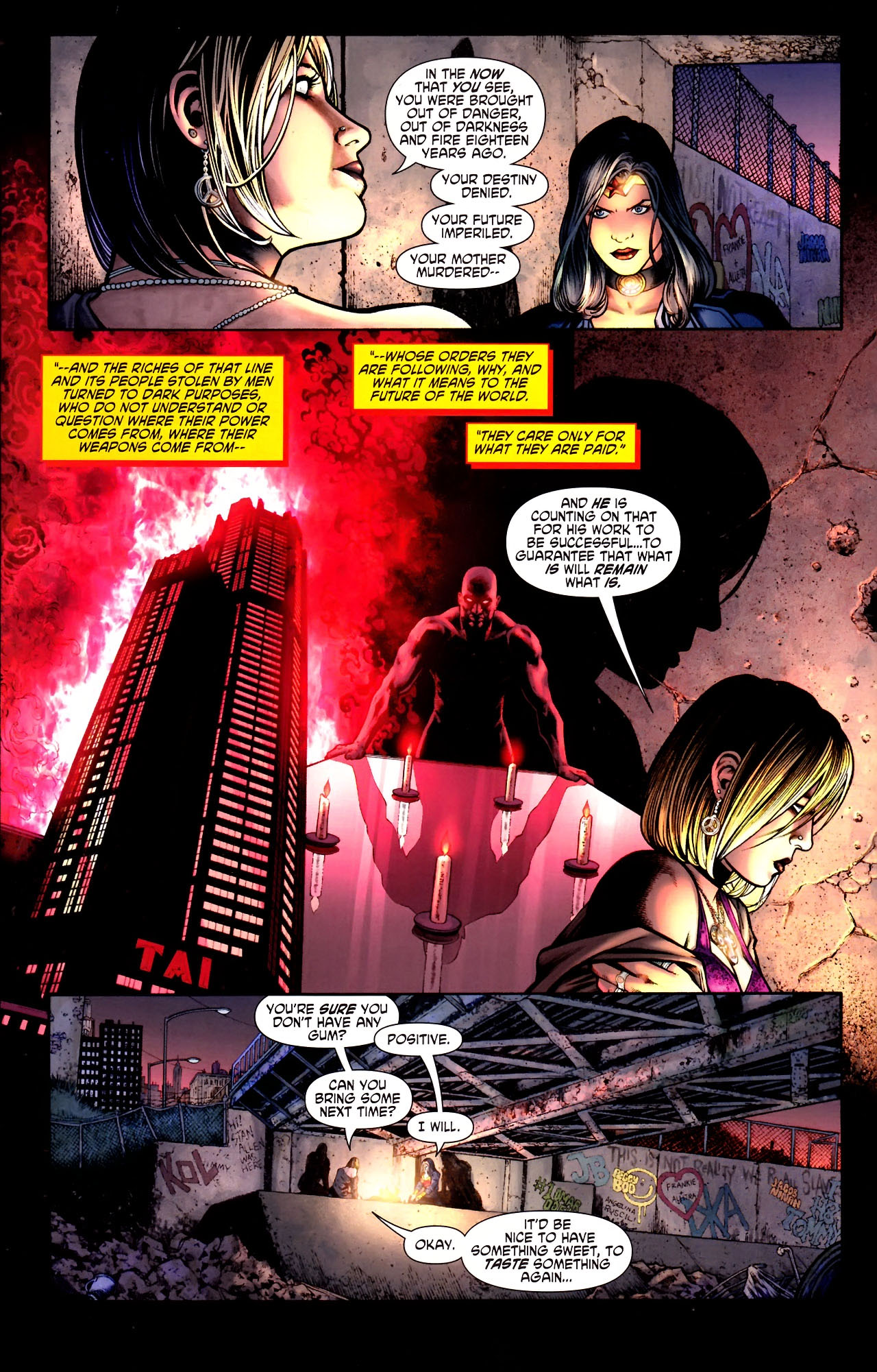 Read online Wonder Woman (2006) comic -  Issue #600 - 43