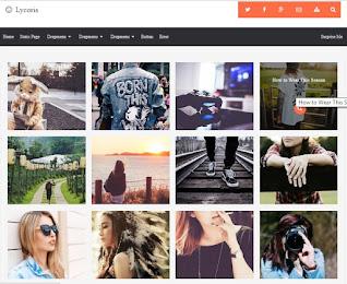 premium responsive blogger templates