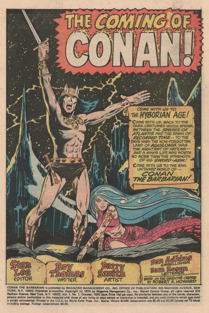 Conan the Barbarian (1970) Issue #1 #13 - English 2