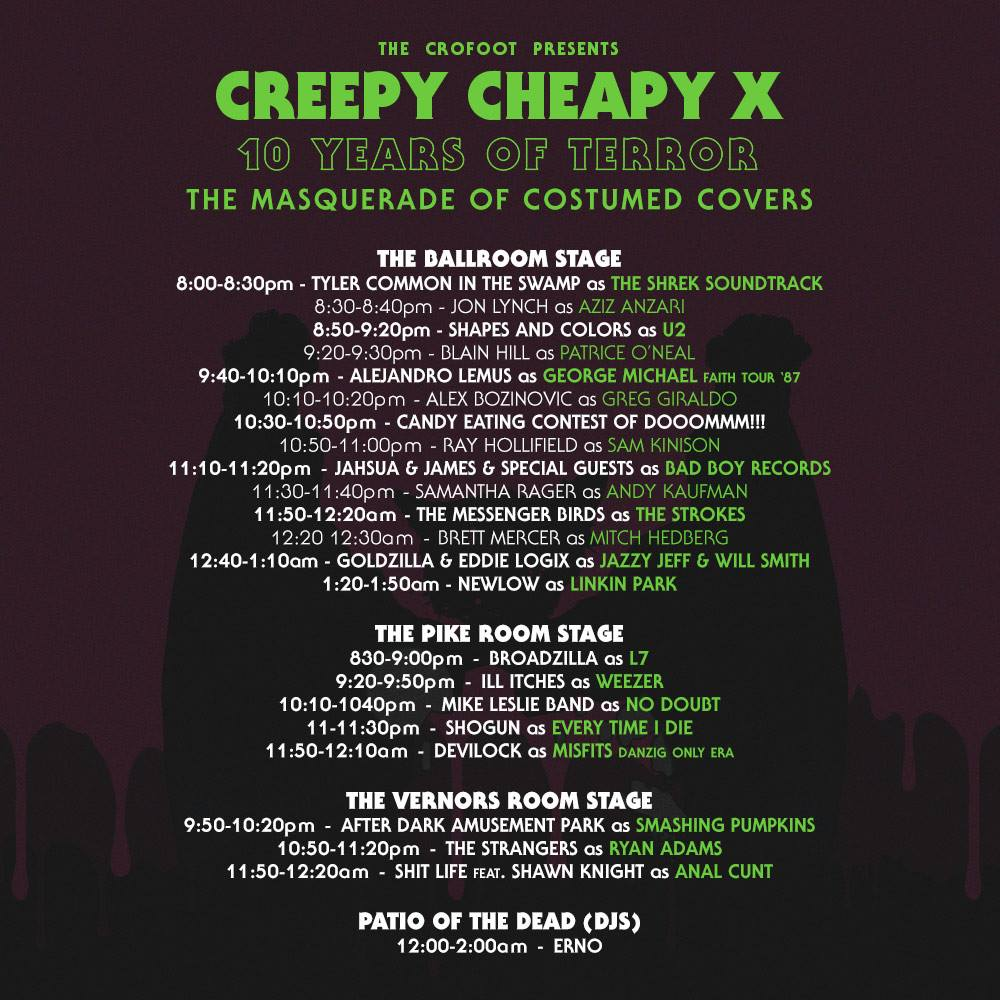 Hip In Detroit: Creepy Cheapy 10 this Friday!