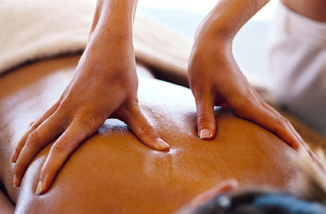 coconut oil for massage