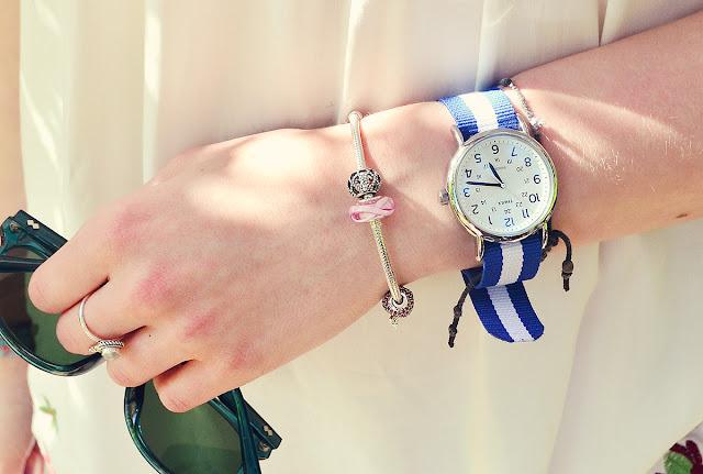 small pandora bracelet