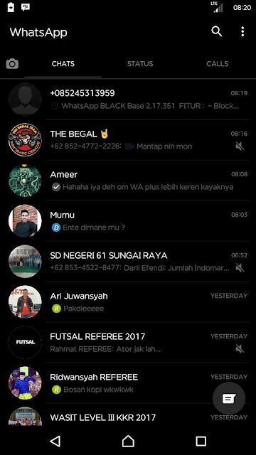 whatsapp Black 2.17.351 Apk Terbaru