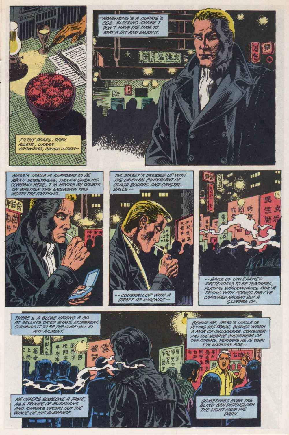Swamp Thing (1982) Issue #90 #98 - English 4