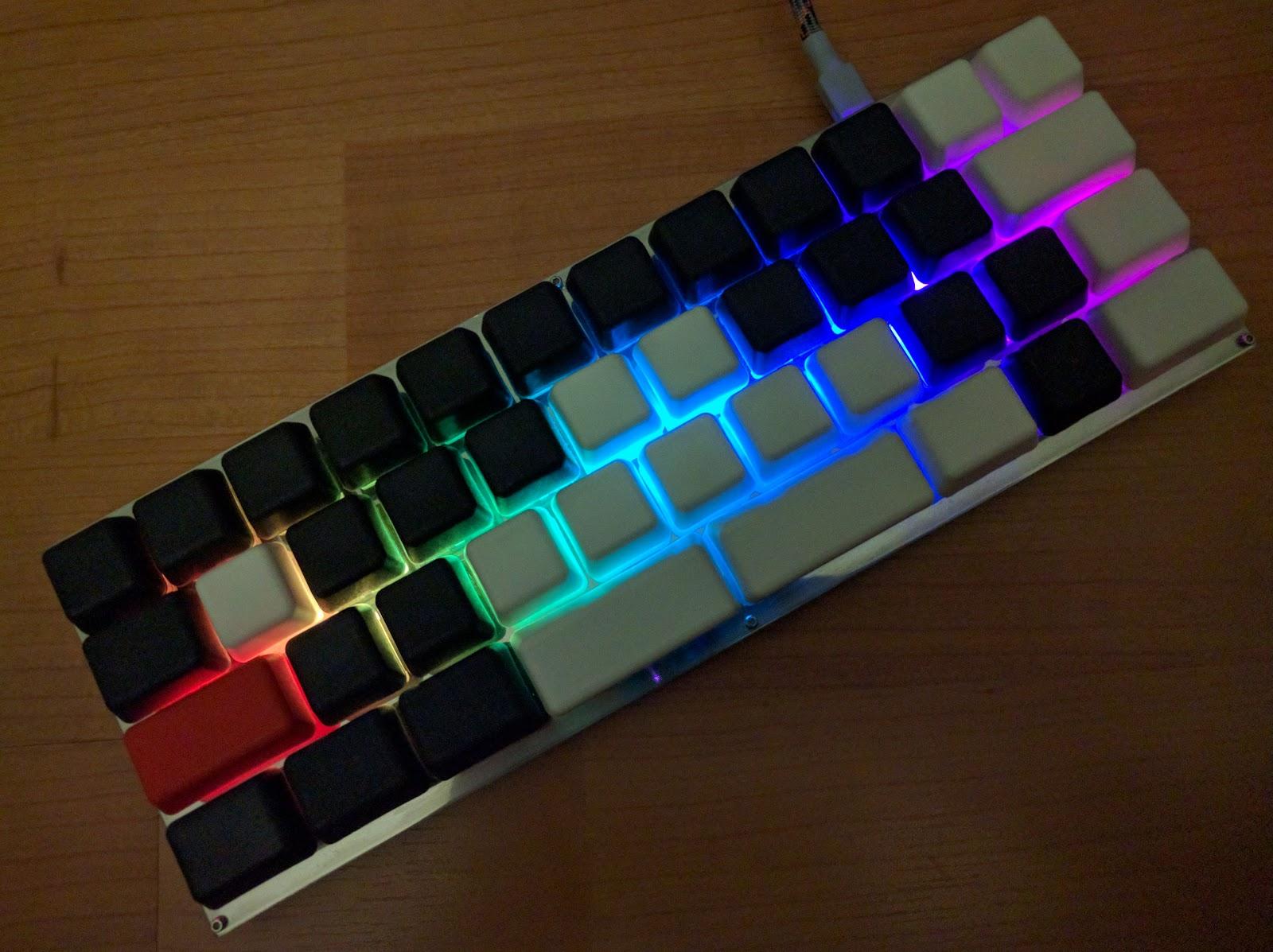 40% Keyboards: August 2016