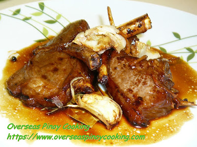 Lamb Chop Adobo Recipe