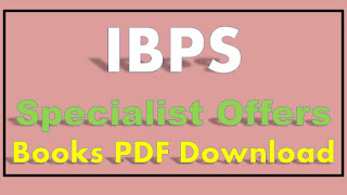 IBPS SO Books Buy Online Specialist Officers Books PDF